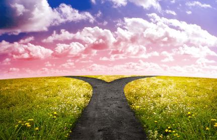 scegliere la strada