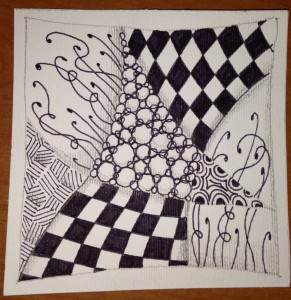 zentangle day 02
